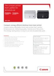 The compact printer that's perfect for personal use - Brochures ...