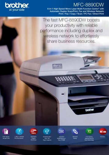 Brother MFC-8890DW - Office Printers