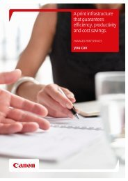 Managed Print Services Brochure - Office Printers