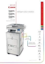Canon i-Sensys MF9170 Brochure - Office Printers