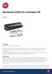 Quickstart H320 A3 Laminator UK