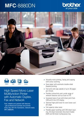 Brother MFC-8880DN - Office Printers