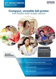 Epson LQ50(NoAddress).indd - Office Printers