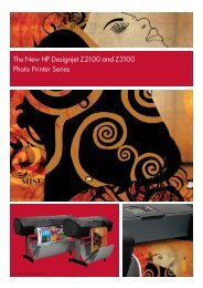 The New HP Designjet Z2100 and Z3100 Photo ... - Office Printers