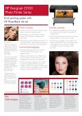 The New HP Designjet Z2100 and Z3100 Photo ... - Office Printers - Page 2