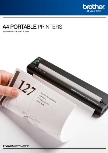 A4 PORTABLE PRINTERS - Office Printers