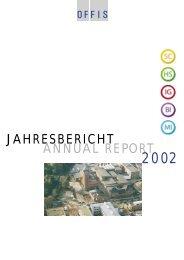 JAHRESBERICHT ANNUAL REPORT - OFFIS