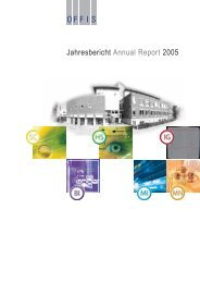 Jahresbericht Annual Report 2005 - Offis