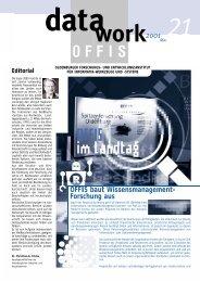 OFFIS baut Wissensmanagement- Forschung aus