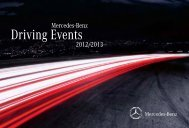 Mercedes-Benz Driving Events 2012/2013 - 300 Multiple Choices