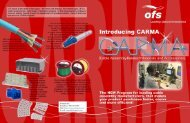 Download CARMA Brochre (645 KB PDF document) - OFS