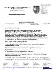 Jahresbericht 2011 Die Abteil - Oldenburgischer Feuerwehrverband ...