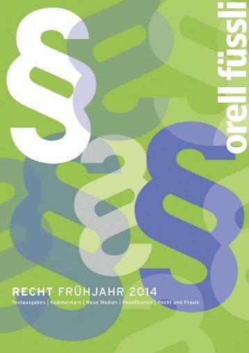 Download Vorschau (PDF) - Orell Füssli