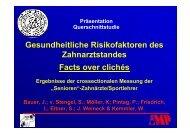 Gesundheitliche Risikofaktoren des Z h t t d ... - OFZ Uni Erlangen