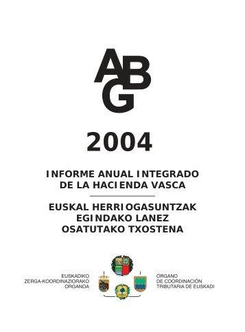 informe anual integrado de la hacienda vasca euskal ...