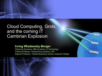 Cloud Computing, Grids and the upcoming ... - Open Grid Forum