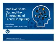 Massive Scale- Out and the Emergence of Cloud ... - Open Grid Forum
