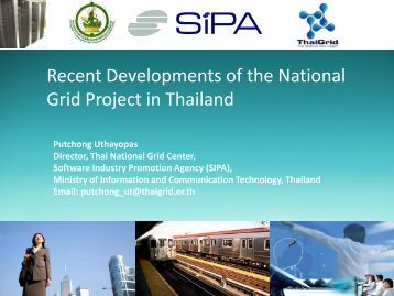 Recent development of National Grid Project in ... - Open Grid Forum