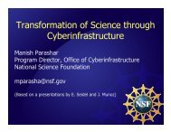Transformation of Science through ... - Open Grid Forum