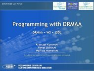 Programming with DRMAA - Open Grid Forum