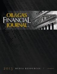 2013 Media Kit - Oil & Gas Financial Journal