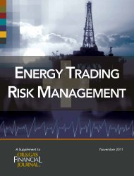 energy trading risk management - Oil & Gas Financial Journal