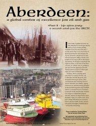 Aberdeen Part 2 - Oil & Gas Financial Journal