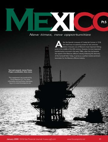 Mexico Part 5 - Oil & Gas Financial Journal