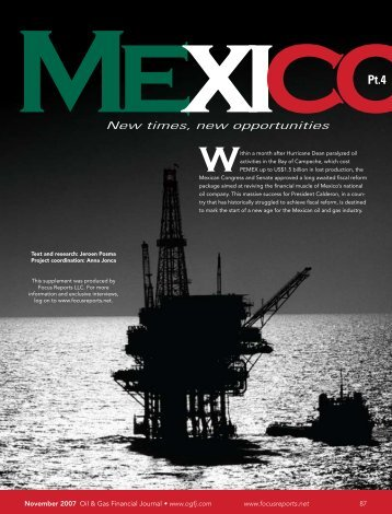 Mexico Part 4 - Oil & Gas Financial Journal