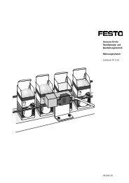 und Bearbeitungstechnik - Festo Didactic