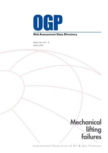 Mechanical lifting failures - OGP