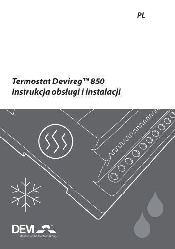 Devireg™ 850 - Ogrzewanie Elektryczne