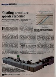Floating armature revs up clutch/brake system - Ogura Industrial Corp