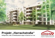 "Projekt ""Harrachstraße"" - Energie AG Oberösterreich"