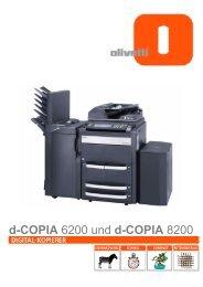 d-COPIA 6200 und d-COPIA 8200 - Ferdinand Fais KG
