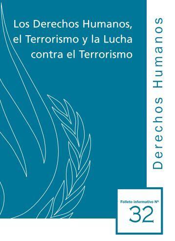 Derechos Humanos y Lucha contra el Terrorismo