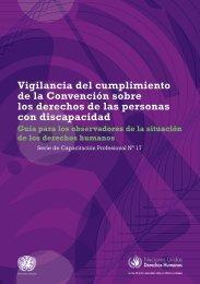Vigilancia del cumplimiento de la Convención sobre los derechos ...