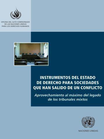 Instrumentos del estado de derecho para sociedades que han