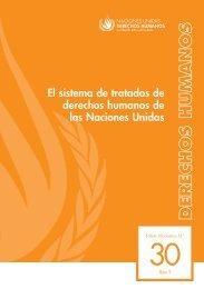 El sistema de tratados de derechos humanos de las Naciones Unidas