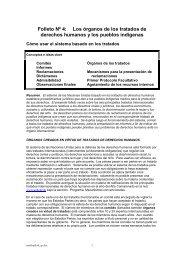 Folleto Nº 4: Los órganos de los tratados de derechos humanos y ...
