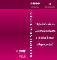 Aplicación de los Derechos Humanos a la Salud Sexual y ...