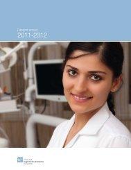 Rapport annuel 2011-2012 - Ordre des hygiénistes dentaires du ...