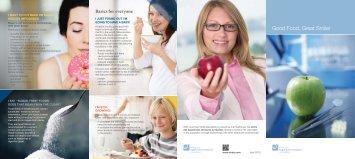 Good Food, Great Smile! - Ordre des hygiénistes dentaires du Québec