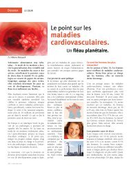 maladies cardiovasculaires.