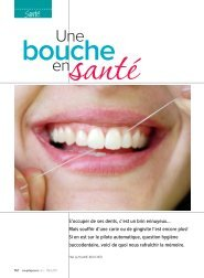 Une bouche en santé - Ordre des hygiénistes dentaires du Québec
