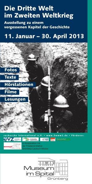 Die Dritte Welt Im Zweiten Weltkrieg 111 â 3042013 Flyer
