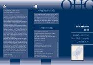 Flyer: Exkursionen, Sommerhalbjahr 2008 (PDF ca. 1. MB
