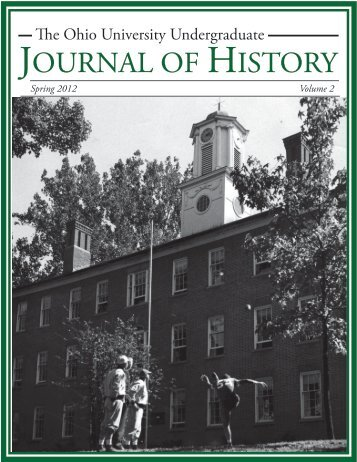 to download Volume 2 (Spring 2012) PDF - Ohio University