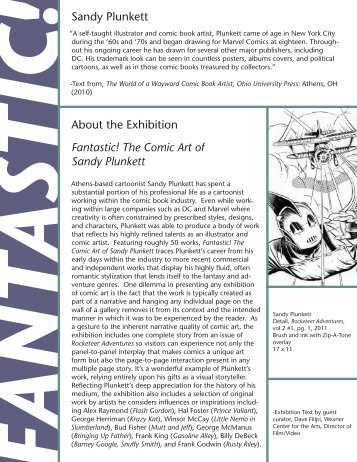 !Sandy Plunkett Fantastic! The Comic Art of Sandy ... - Ohio University