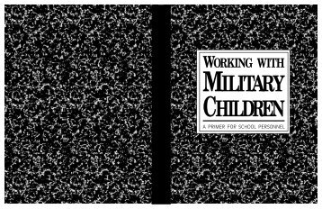 Working With Military Children - Craven County Schools